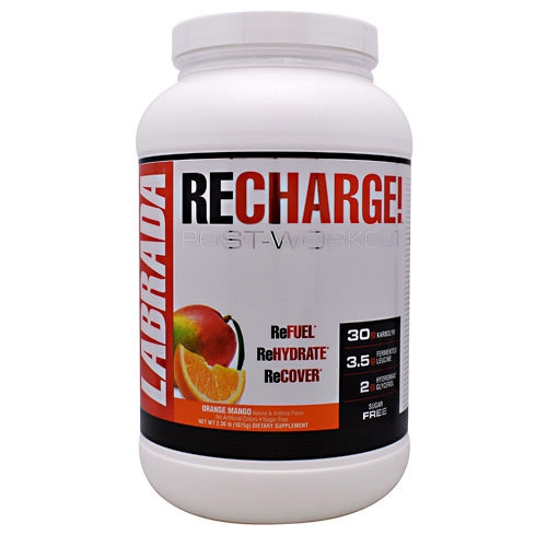 Labrada Nutrition ReCharge! - Orange Mango - 25 Servings - 710779560451