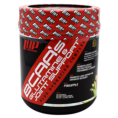 1 UP Nutrition BCAAs - Pineapple - 30 Servings - 019962564215