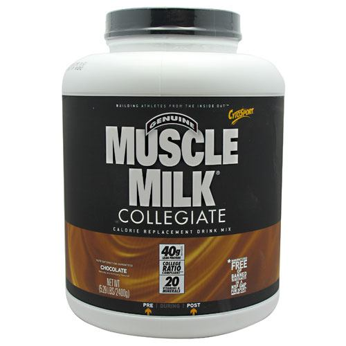 CytoSport Collegiate Muscle Milk - Chocolate - 5.29 lb - 660726563267