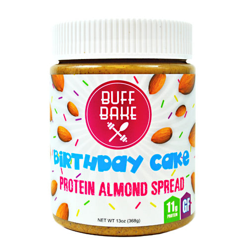Buff Bake Protein Almond Spread - Birthday Cake - 13 oz - 857697005661