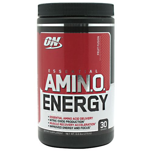 Optimum Nutrition Essential Amino Energy - Fruit Fusion - 30 Servings - 748927026665