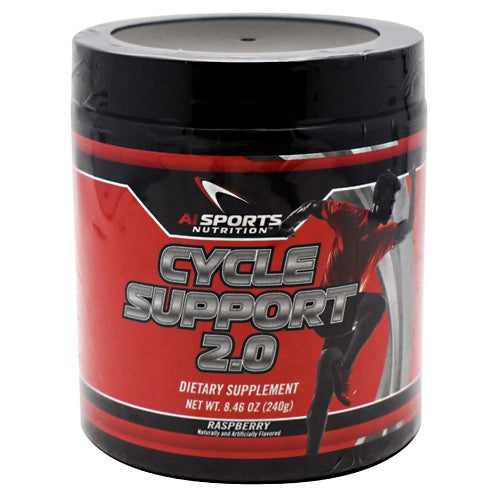 AI Sports Nutrition Cycle Support 2.0 - Raspberry - 60 Servings - 804879579441