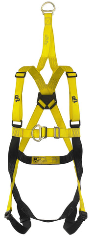 Harness (Two point, Fall arrest harness, Adjustable leg straps, Rescue)