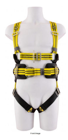 Harness (Four point, Fall arrest, Adjustable, Work Positioning)