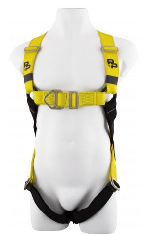 Harness (Two point, Fall arrest harness, Adjustable leg straps)