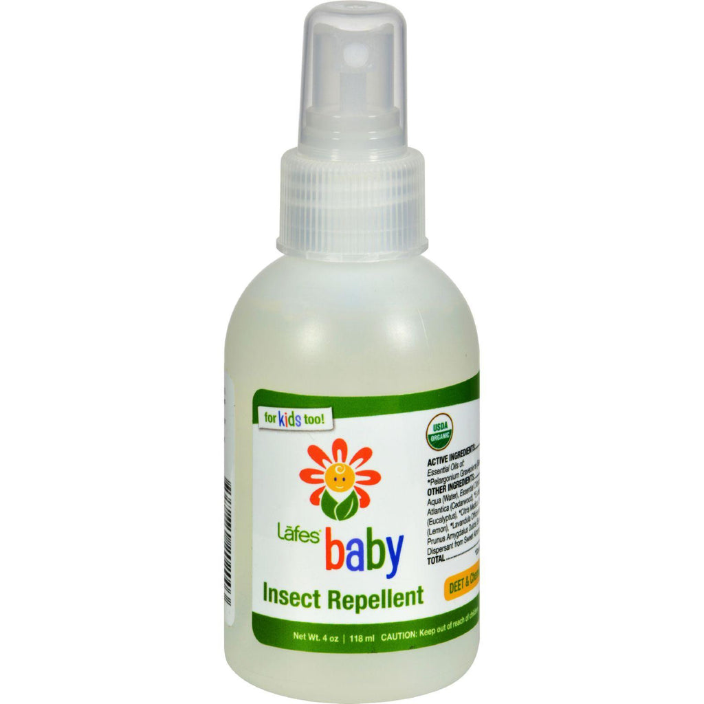 Lafe S Natural And Organic Baby Insect Repellent 4 Fl Oz