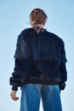 KATE FAUX FUR BOMBER JACKET