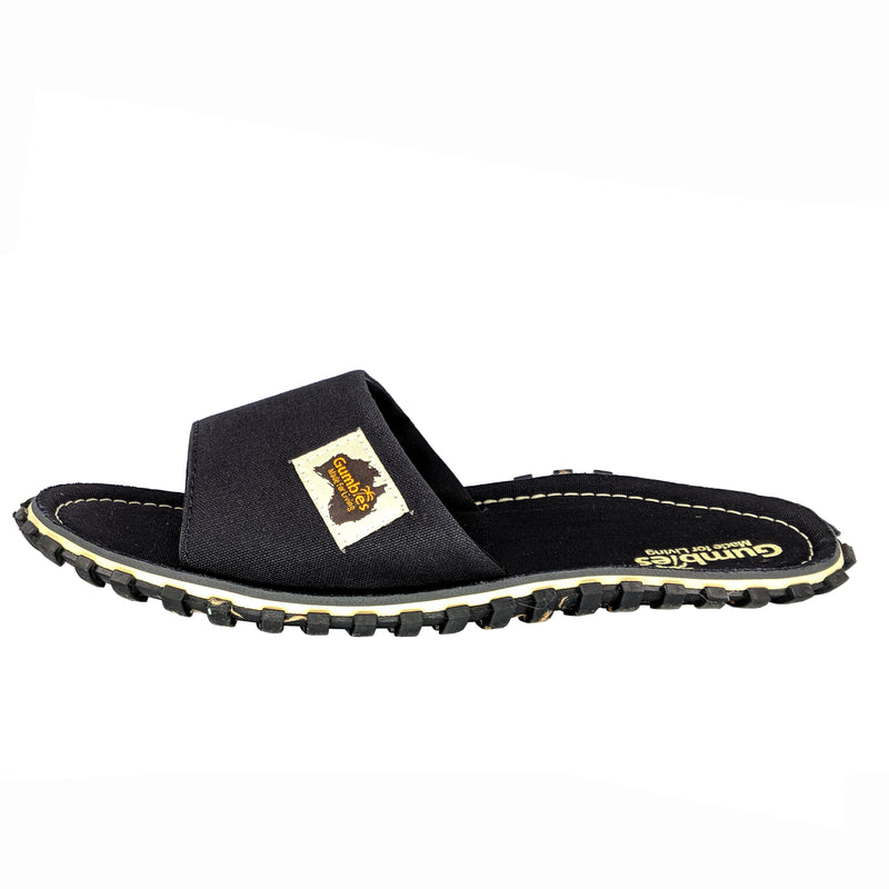 Islander Canvas Slide - Black
