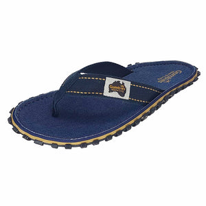 Islander Canvas Flip-Flops Dark Denim