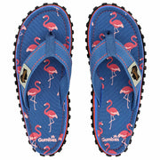 Islander Canvas Flip-Flops - Flamingo