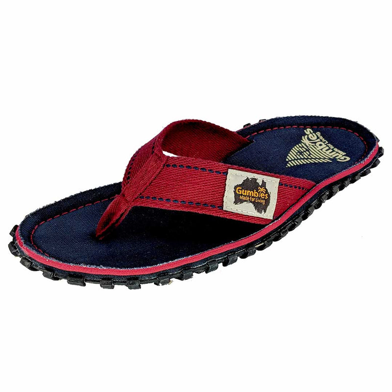 Islander Canvas Flip-Flops Navy Coast