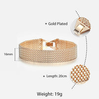 10MM 12MM Big Wide For Women Men Bracelet 585 Rose Gold Color Double Weaving Rolo Cable Curb Link Catenary Chain Jewelry CBB01