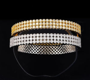 Bangles HADIYANA Fashion Designer Bangles For Women Simple Elegant Womens Party Jewellery Cubic Zirconia SZ064 Brazalete Mujer
