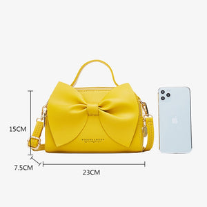 Elegant Women Leather Handbags Female Shoulder Crossbody Bags for Women Handbags High Quality Ladies Messenger Hand Bags Bow NEW