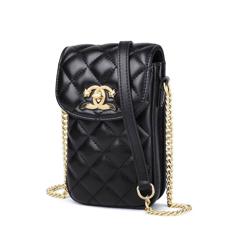 FOXER Brand Women Handbags Fashion Mini Cell Phone Bags Small Crossbody Bags Ladies Flap Shoulder Bag Female Mobile Phone Purse