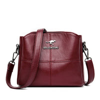 High Quality Soft PU Leather Shoulder Crossbody Bags for Women 2020 New Luxury Handbags Women Bags Designer Messenger Bag Sac