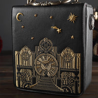 Luxury Designer Pu Leather Women Handbags Real Alarm Clock Shoulder Bag High Quality Ladies Small Purse Crossbody Bags for Women