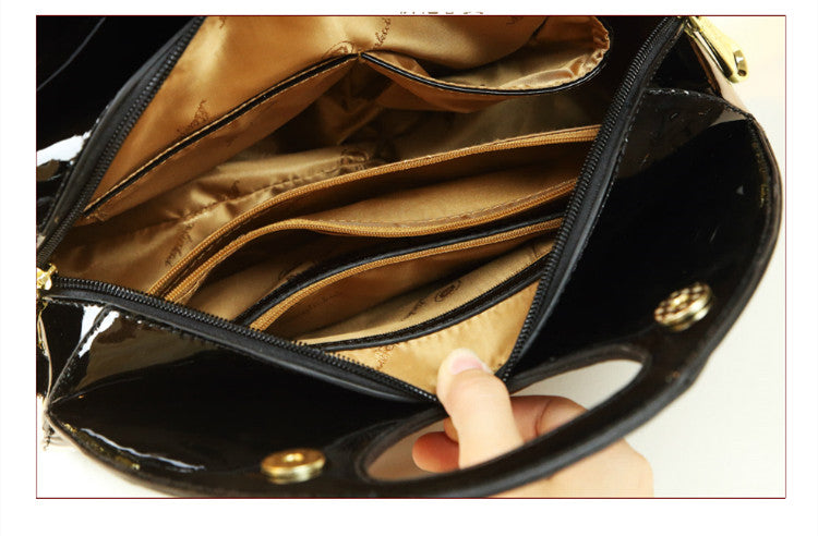 Luxury Fashion Diamond Women Handbag Female Dumpling Bag Genuine Leather Tote Bag Ladies New Party Shoulder Messenger Bags
