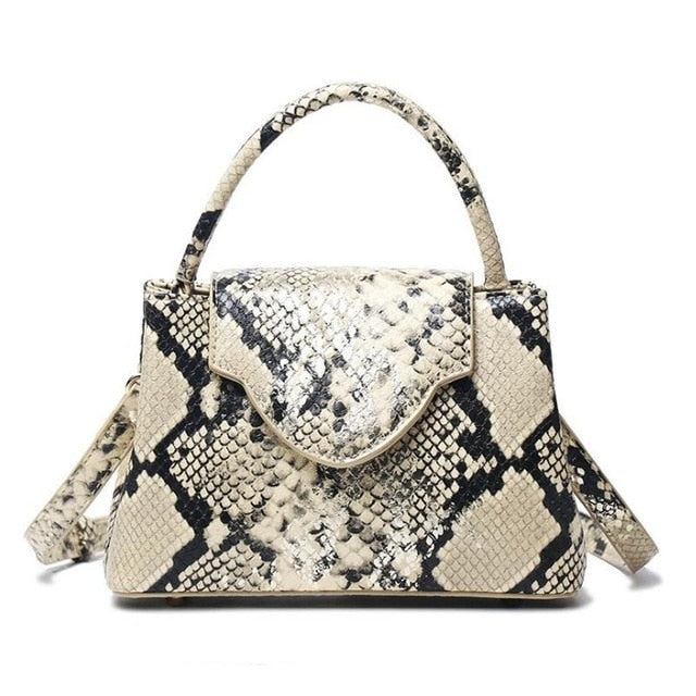 Luxury Python Leather Hand Bags women small Cross Body Shoulder Bags Snakeskin HandBag Designer Day Clutch Belt Crossbody Bag