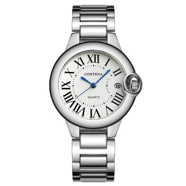 Luxury Watches for Women 2020 Ladies Watches Woman Fashion Watches Clocks Women Stainless Steel Women Wristwatch Montre Femme