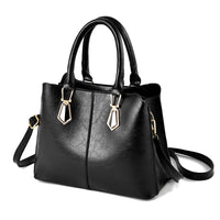NEWPOSS Women bag Oil wax Women's Leather Handbags Luxury Lady Hand Bags With Purse Pocket Women messenger bag Big Tote Sac Bols
