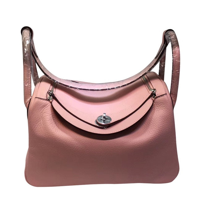 Real Leather Female Tote Bag Designers Luxury Handbags Soft Cow Genuine Leather Carry on Hand Bags Women's Trending 2021