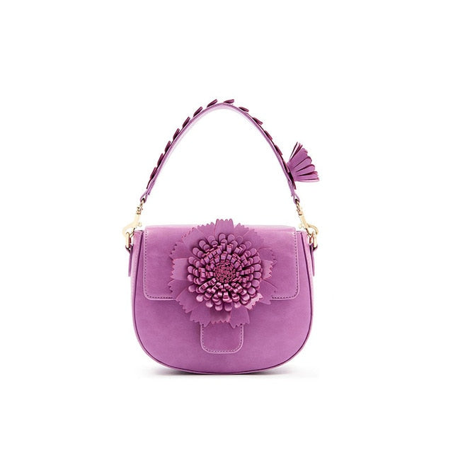 Sequins flower totes handbag women candy vintage party saddle bag 2020 spring summer new shoulder bag drop shipping
