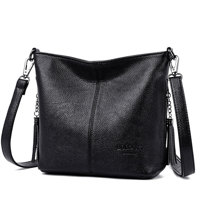 Women Leather Bags Ladies Luxury Shoulder Bags Women's Handbag Female Messenger Bag Fashion Crossbody Bags for Women Bolsas Sac