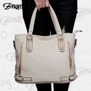 ZMQN Bags for Women Handbags Famous Brand 2019 Soft Leather Crossbody Bag Female Casual Luxury Handbags Women Bags Designer A806