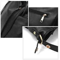 ZMQN Luxury Bags For Women Black Handbags Women Messenger Bags 2019 Leather Handbag Hobos Big Shoulder Bag Bolsa Feminina A897