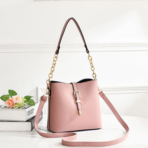 ZMQN Messenger Bag Women Small Composite Bags For Women's PU Leather Handbag Ladies Chains Shoulder Cross Body Bag Sac 2019 A511