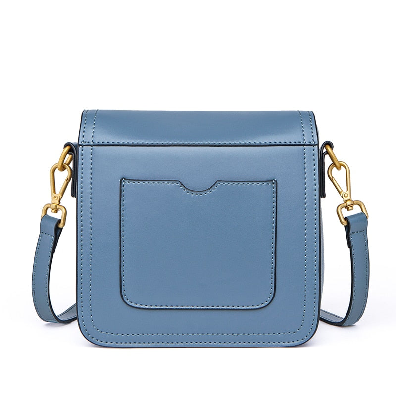 ZOOLER 2019 new bag girls genuine leather bags women's shoulder bag elegant fashion designed small Cow leather bags luxury#CK208