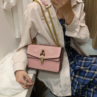 CASMOR Women Fashion Shoulder Bag  Famous Designer Leather Little Bee Casual Handbag 2019 Female Small Flap Messenger Bag