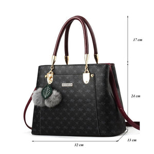 Luxury Handbags Women Bags Designer Brand Women Leather Bag Handbag Shoulder Bag for Women 2018 Sac a Main Ladies Hand Bags