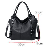 2018 Luxury Handbags Women Bag Designer High quality Leather Shoulder Bag Women Big Tote Casual Female Shoulder Messenger Bags