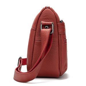 WESTAL Women's Shoulder Bags Genuine Leather Bag Flap Female Messenger Bag Women Leather Handbag Casual Lady Crossbody Bags 2004