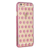 Metallic Printed Rose Gold Polka Dot iPhone Case