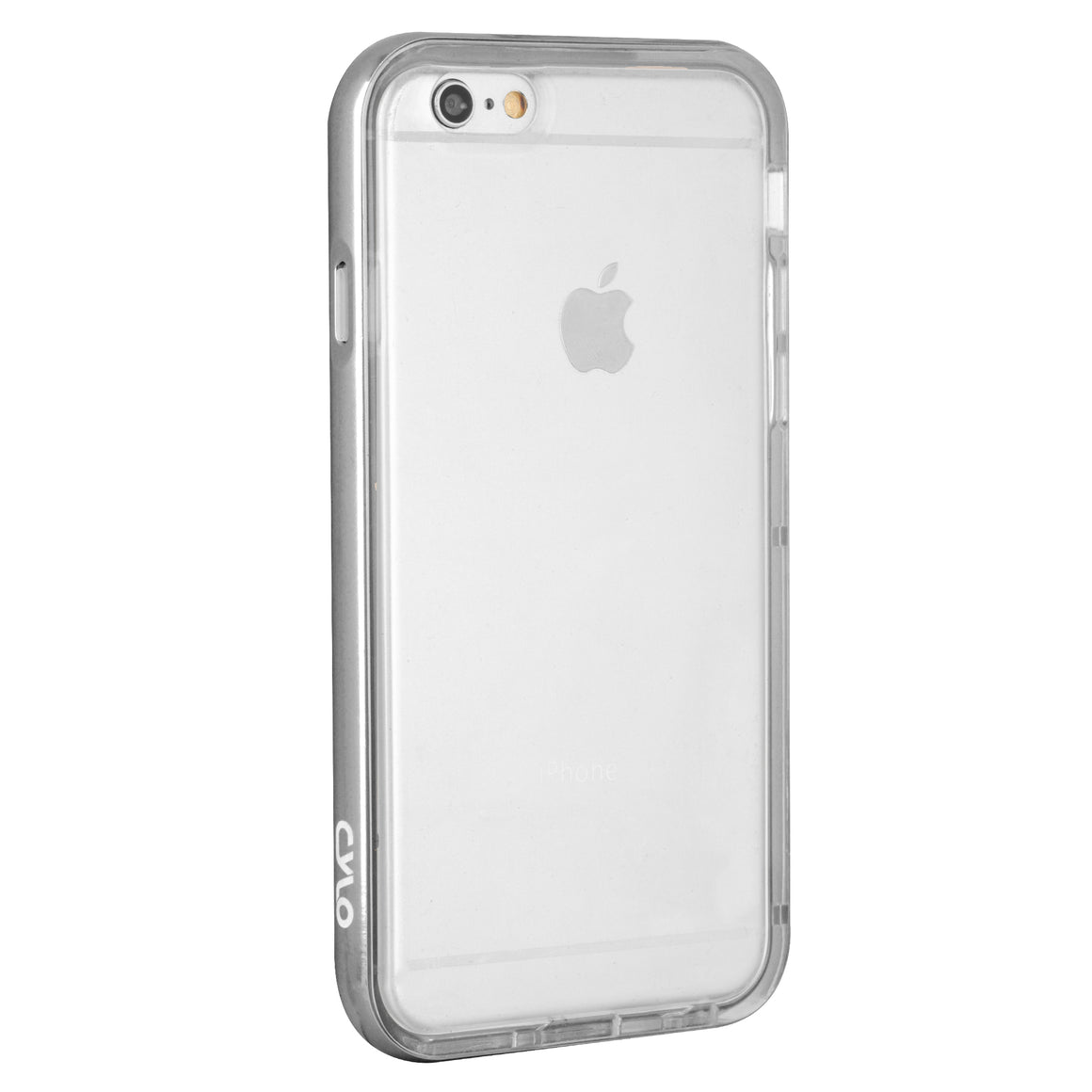 Gunmetal Metallic Drop-Shield iPhone Case