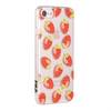 "Universal Pop Sheer Case ""Strawberries"" iPhone 6 Plus and iPhone 7 Plus"