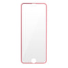 HAUTE Rose Gold iPhone Compatible Metallic Rim Screen Protector