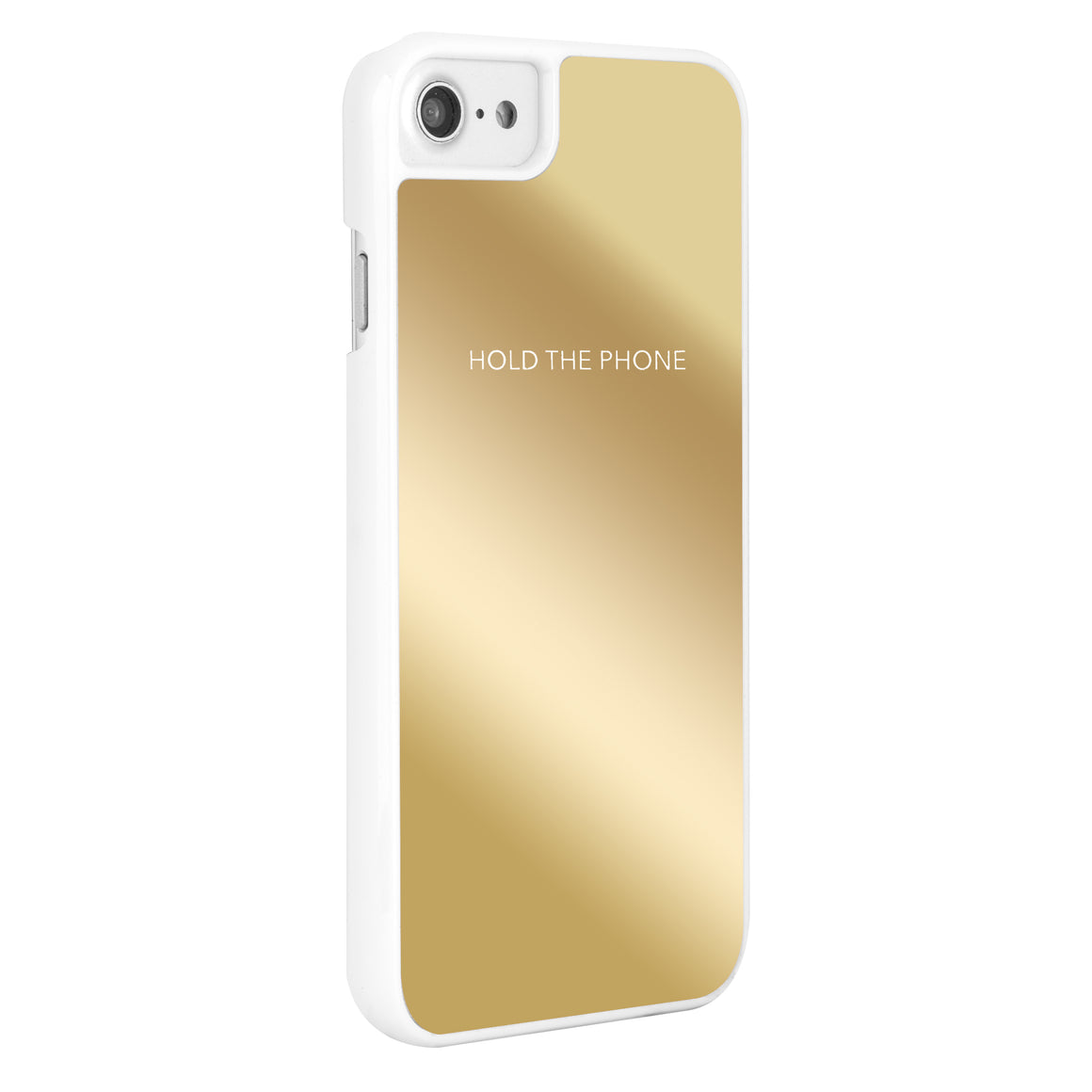 """Hold The Phone"" Gold Mirror POP"