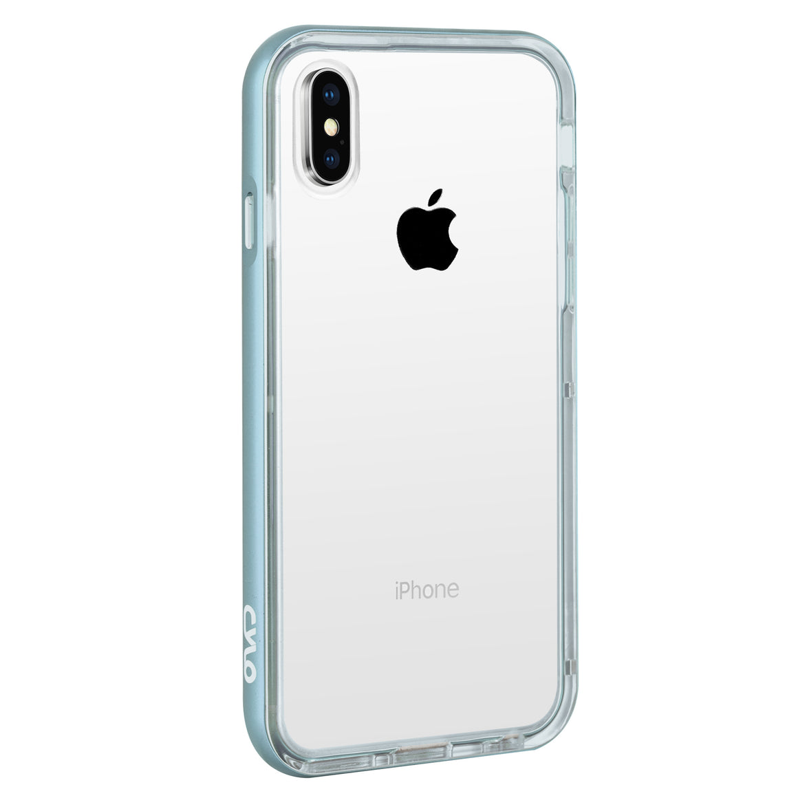 Pale Blue Drop-Shield iPhone X Case