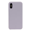 Lavender Grey Silicone iPhone Case