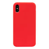 Red Silicone iPhone Case