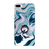 Blue Marble iPhone Back Protector with Phone Ring