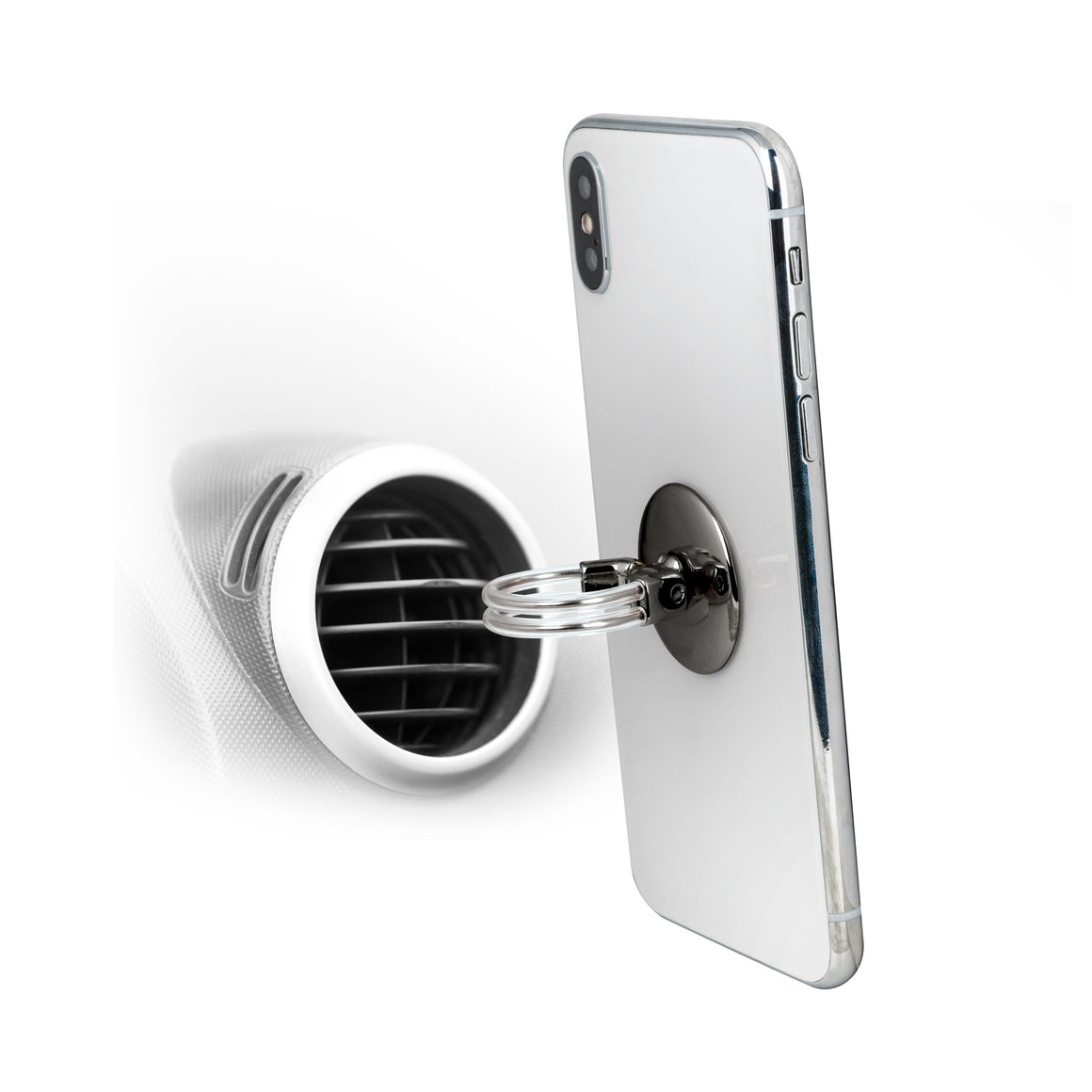 Air Vent Mount Phone Ring Stand