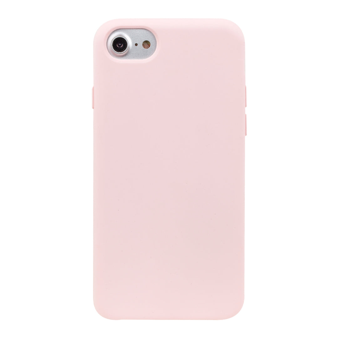 baby pink silicone iphone xr case