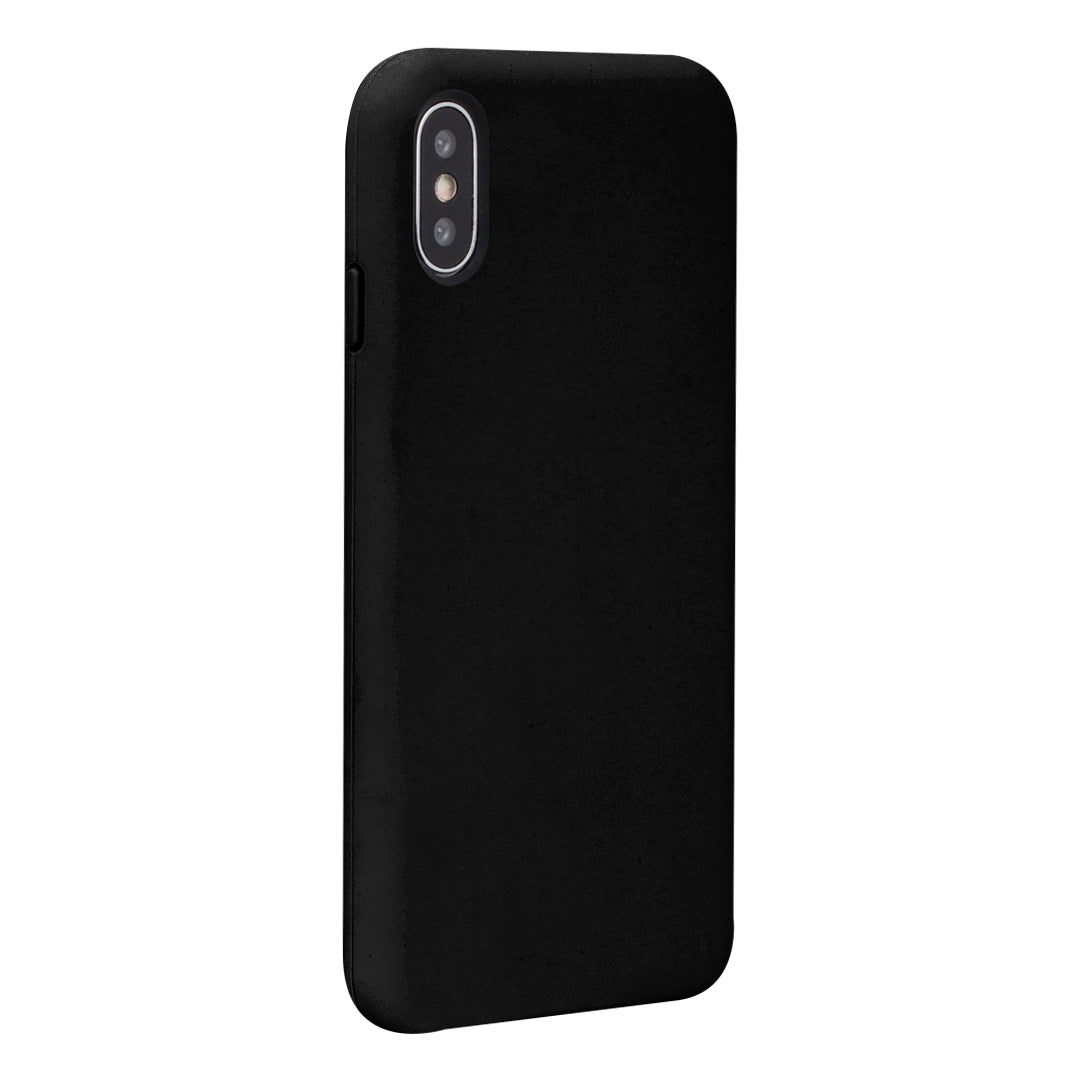 Black Silicone iPhone X Case