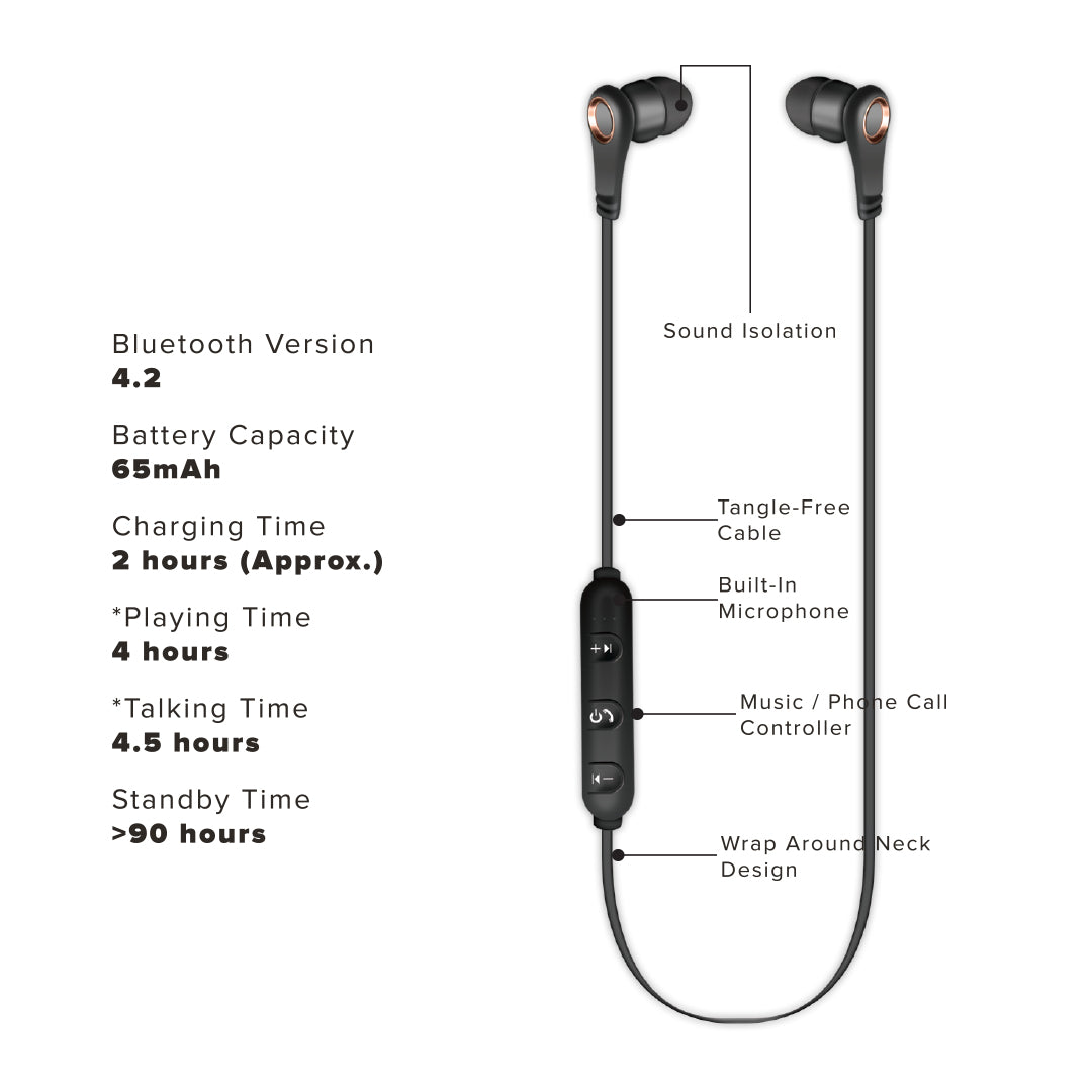 CO Bluetooth Earbuds on