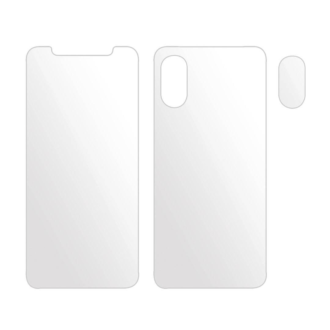 ARMOR-GRADE iPhone X Complete Front and Back Screen Protecor